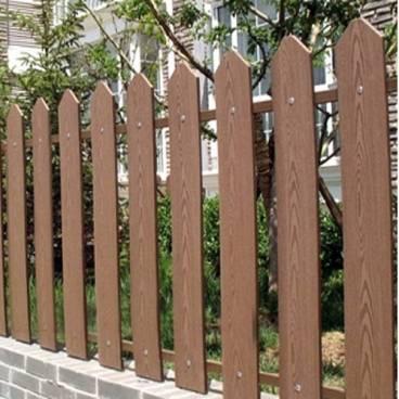 Hàng rào gỗ nhựa đẹp