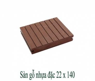 Sàn gỗ nhựa đặc 22x140