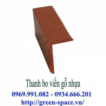 Thanh bo viền gỗ nhựa