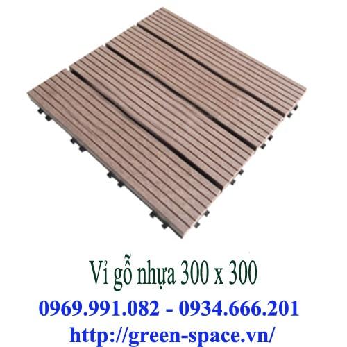 Vỉ gỗ nhựa 300 x 300