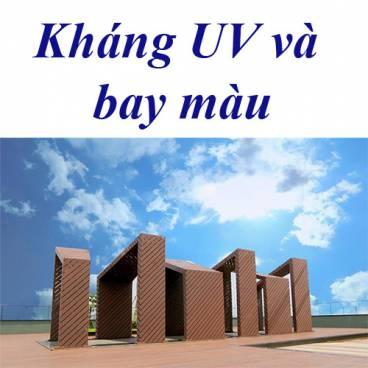Chức năng kháng UV bay màu