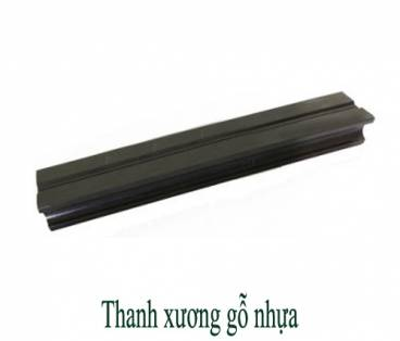 Thanh xương gỗ nhựa