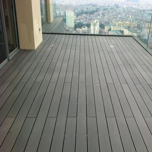 Sàn gỗ nhựa ghép hở