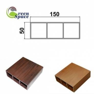 Thanh hộp wpvc 150x50 mm