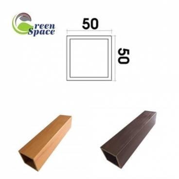 Thanh hộp wpvc 50x50 mm