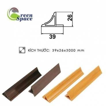 Thanh phào wpvc 26x39 mm